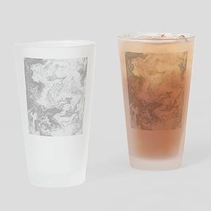 Gray Swirly Pattern. Drinking Glass