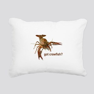 crawfish 1 Rectangular Canvas Pillow