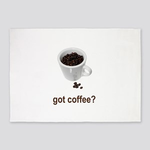 got coffee1 5'x7'Area Rug