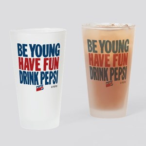 Be Young Drinking Glass