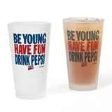 Pepsi Drinking Glass