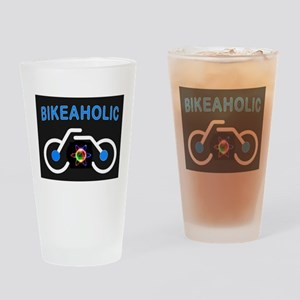 BIKEAHOLIC Drinking Glass