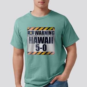 Warning: Hawaii 5-0 Mens Comfort Colors Shirt