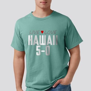 Live Love Hawaii 5-0 Mens Comfort Colors Shirt