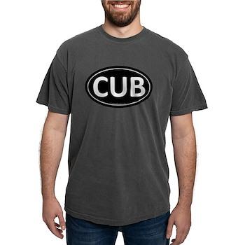 CUB Black Euro Oval Mens Comfort Colors Shirt