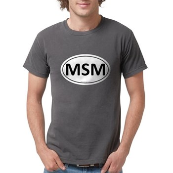 MSM Euro Oval Mens Comfort Colors Shirt