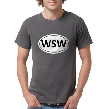 WSW Euro Oval Mens Comfort Colors Shirt