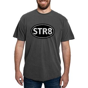 STR8 Black Euro Oval Mens Comfort Colors Shirt