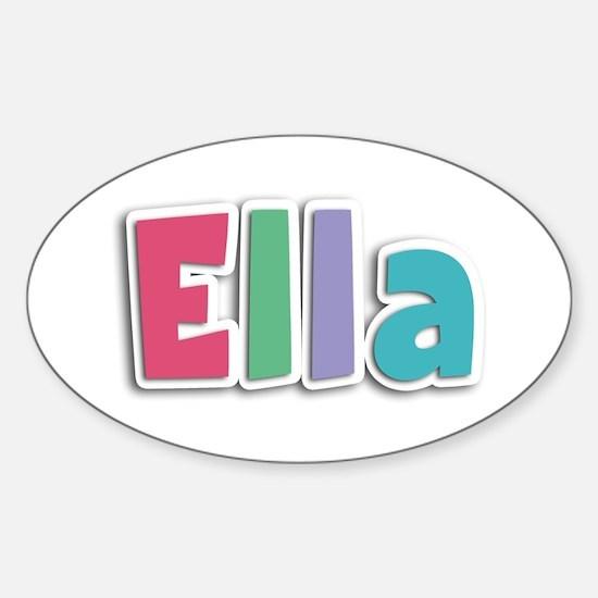 Ella Spring11G Oval Decal
