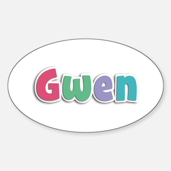 Gwen Spring11G Oval Decal
