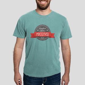 Certified MacGyver Addict Mens Comfort Colors Shir