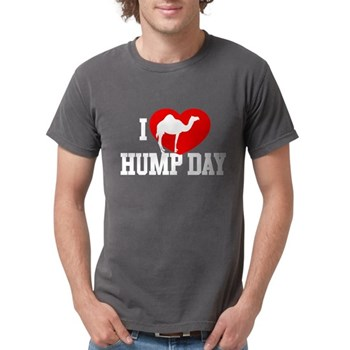 I Heart Hump Day Mens Comfort Colors Shirt
