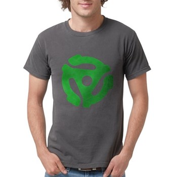 Green Distressed 45 RPM Adapt Mens Comfort Colors