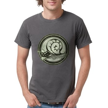 Distressed Wild Snail Stamp Mens Comfort Colors Sh