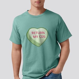 RETURN MY CDS - Candy Heart Mens Comfort Colors Sh