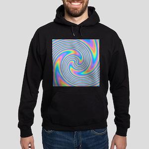 Colorful Swirl Design. Hoodie
