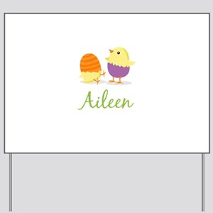 Easter Chick Aileen Yard Sign