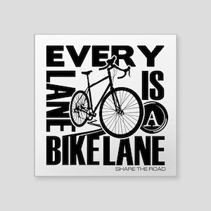 Every Lane Is A Bike Lane Sticker