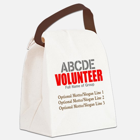 Volunteer Crew Canvas Lunch Bag