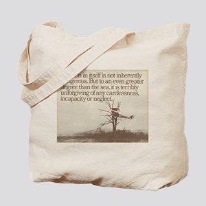 "WWI ""Plane in a Tree"" Tote Bag"