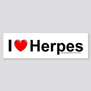 Herpes Sticker (Bumper)