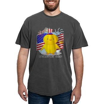 Patriotic Chick Mens Comfort Colors Shirt