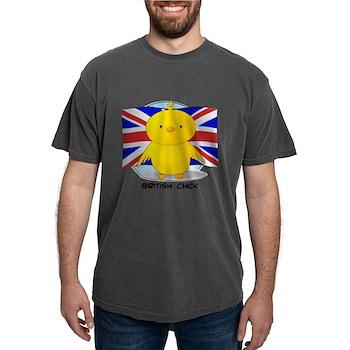 British Chick Mens Comfort Colors Shirt