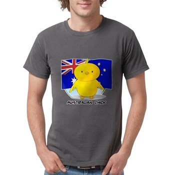 Australian Chick Mens Comfort Colors Shirt