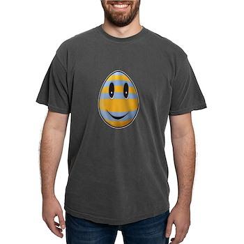 Smiley Easter Egg Mens Comfort Colors Shirt