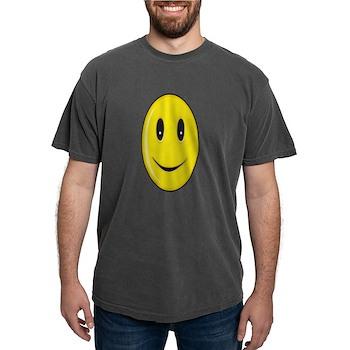 Long Face - Smile Mens Comfort Colors Shirt