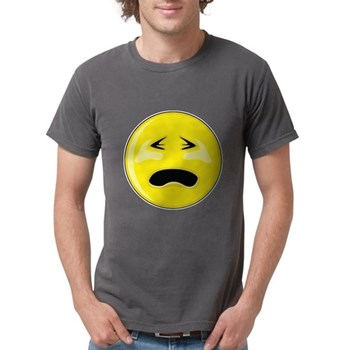 Smiley Face - Crying Mens Comfort Colors Shirt