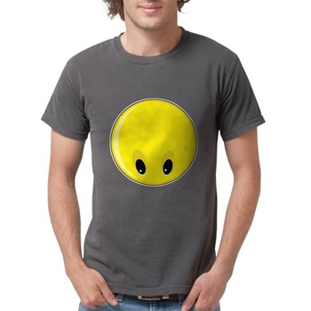 Smiley Face - Looking Down Mens Comfort Colors Shi