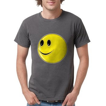 Smiley Face - Looking Right Mens Comfort Colors Sh