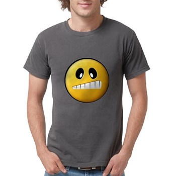 Confused Smiley Mens Comfort Colors Shirt