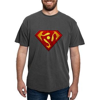 Super DJ 45 RPM Adapter Mens Comfort Colors Shirt