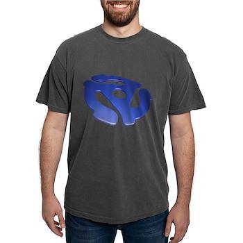 Blue 3D 45 RPM Adapter Mens Comfort Colors Shirt