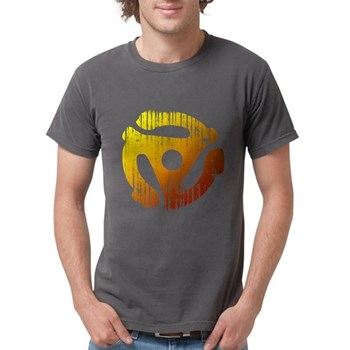 Distressed 45 RPM Adap Mens Comfort Colors Shirt