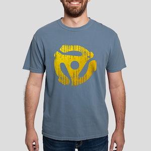 Distressed Yellow 45 RPM Adap Mens Comfort Colors