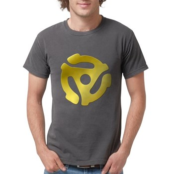 Gold 45 RPM Adapter Mens Comfort Colors Shirt