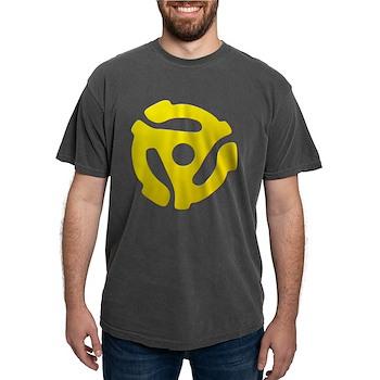 Yellow 45 RPM Adapter Mens Comfort Colors Shirt