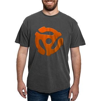Orange 45 RPM Adapter Mens Comfort Colors Shirt