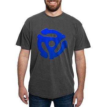 Blue 45 RPM Adapter Mens Comfort Colors Shirt