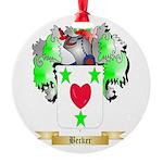 Becker Round Ornament