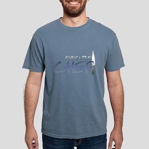 Blue Executive Chef Mens Comfort Colors Shirt
