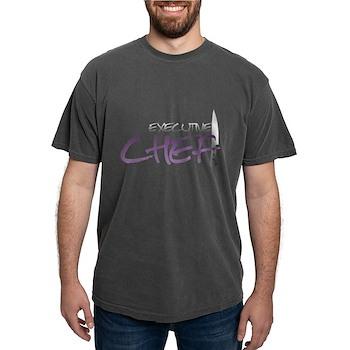 Purple Executive Chef Mens Comfort Colors Shirt