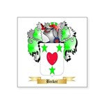 Becker Square Sticker 3