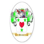 Becker Sticker (Oval)