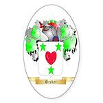 Becker Sticker (Oval 10 pk)