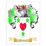 Becker Small Poster