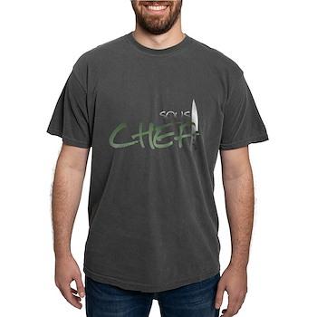 Green Sous Chef Mens Comfort Colors Shirt